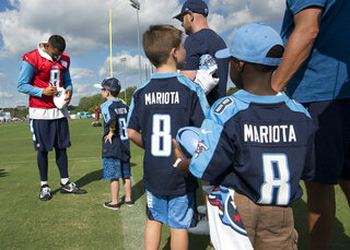 Titans Camp Football
