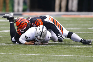 Raiders Bengals Football