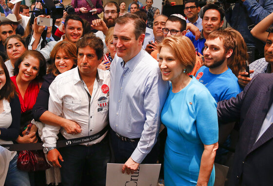 Ted Cruz, Carly Fiorina