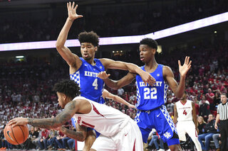 Kentucky Arkansas Basketball