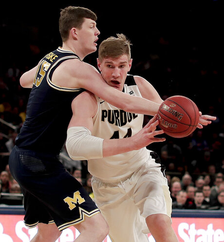 B10 Michigan Purdue Basketball