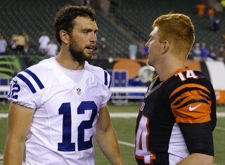 Andy Dalton, Andrew Luck