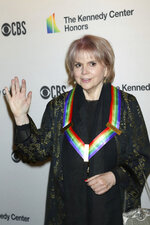 2019 Kennedy Center honoree Linda Ronstadt attends the 42nd Annual Kennedy Center Honors at The Kennedy Center, Sunday, Dec. 8, 2019, in Washington. (Photo by Greg Allen/Invision/AP)