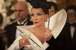 """This image released by Disney shows Emma Thompson in a scene from """"Cruella."""" (Disney via AP)"""
