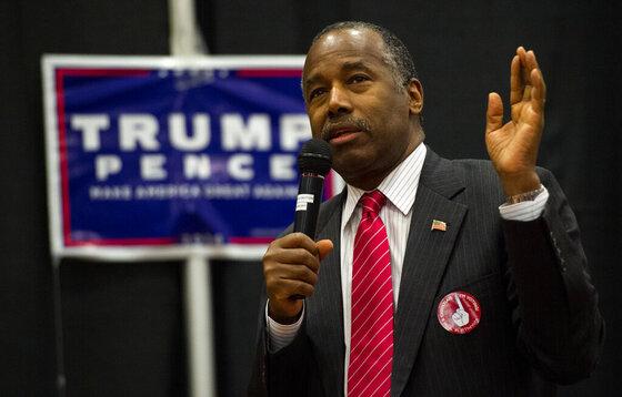 Campaign 2016 Carson Trump