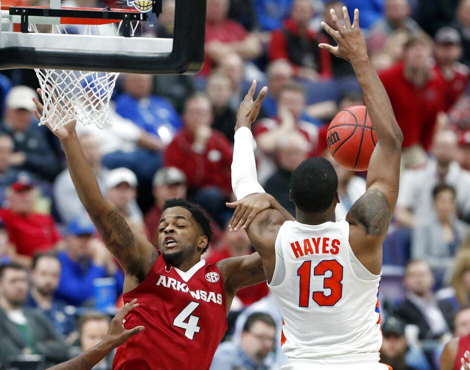 SEC Arkansas Florida Basketball