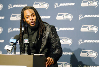 Seahawks Sherman Football