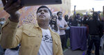 """In this image provided by Hulu, Denilson Garibo appears in a scene from """"Homeroom."""" (Hulu via AP)"""
