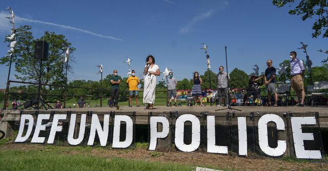 Alondra Cano, a City Council member, speaks during