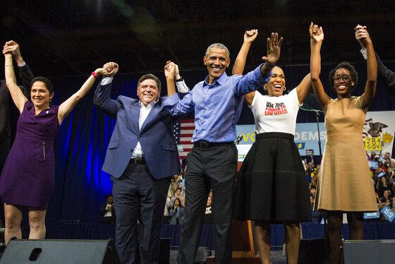 Election 2018-Illinois-Obama