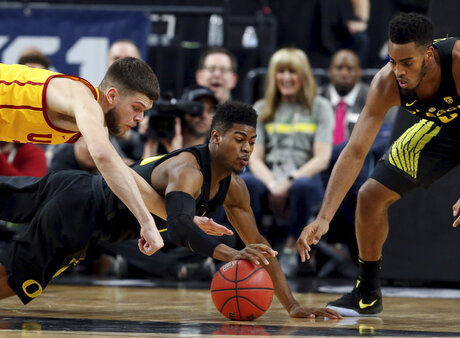 P12 Oregon USC Basketball