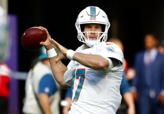 Dolphins Tannehill Football