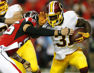Redskins Falcions Football