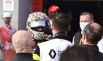 Renault driver Daniel Ricciardo of Australia is congratulated after taking third place in the Emilia Romagna Formula One Grand Prix, at the Enzo and Dino Ferrari racetrack, in Imola, Italy, Sunday, Nov.1, 2020. (Miguel Medina, Pool via AP)