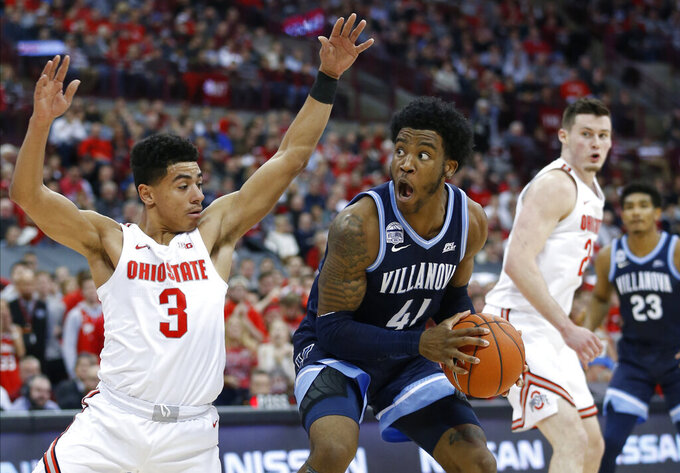 Hot start helps No. 18 Ohio State rout No. 10 Villanova