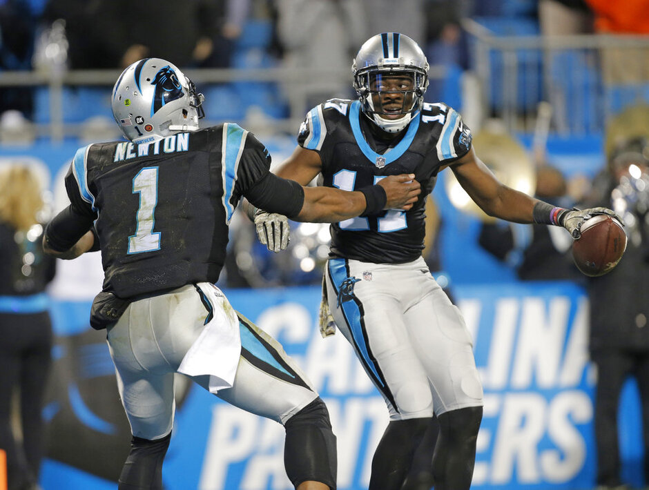 Devin Funchess, Cam Newton