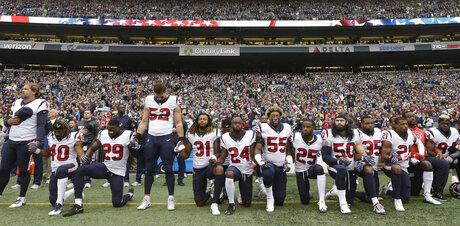 NFLPA Anthem Policy Grievance Football