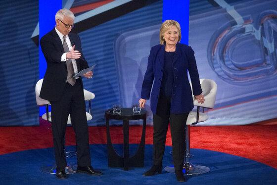 Hillary Clinton, Anderson Cooper