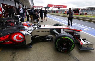 Britain F1 British GP Auto Racing