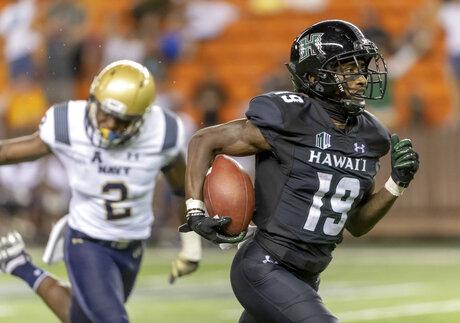 Navy Hawaii Football