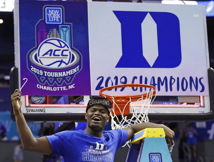 Zion in action as NCAA Tournament wraps up first round