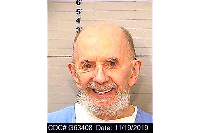 This Nov. 19, 2019 booking photo provided by the California Department of Corrections shows Phil Spector. Spector, the eccentric and revolutionary music producer who transformed rock music with his