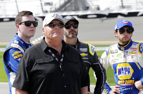 Rick Hendrick, t, Alex Bowman, Jimmie Johnson, Chase Elliott