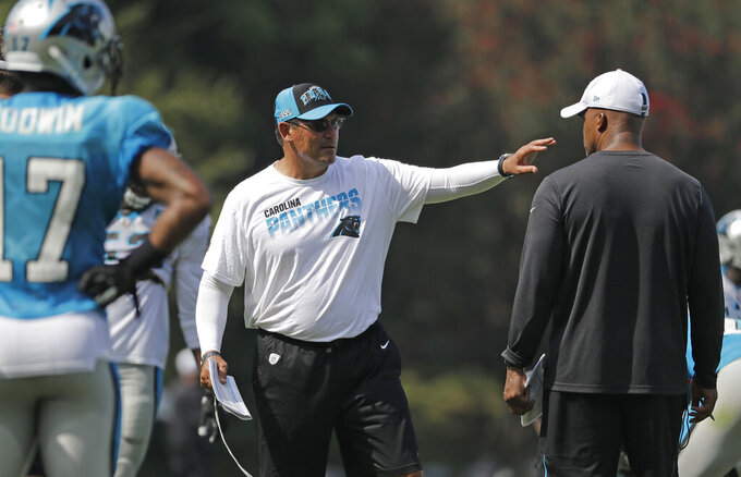 Play-calling duties have Ron Rivera focusing on defense