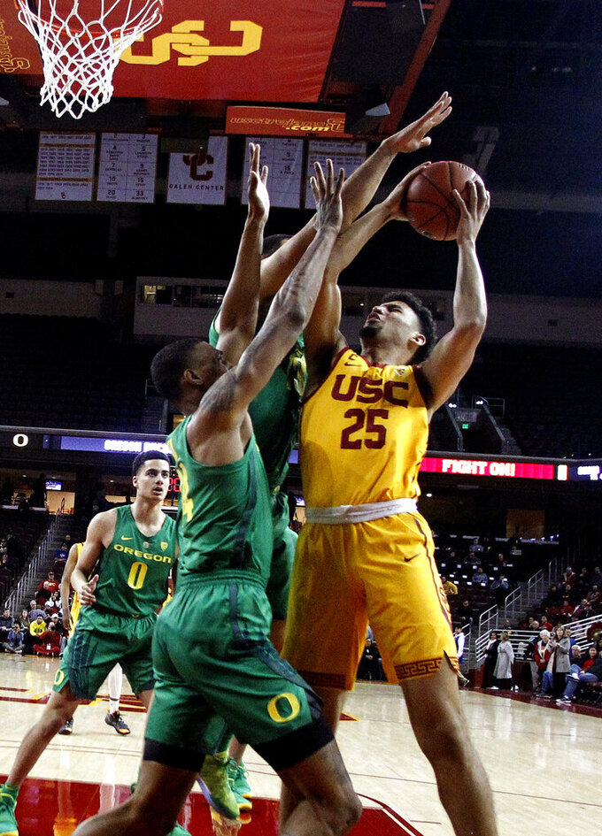 Boatwright, Rakocevic lead USC past Oregon, 66-49