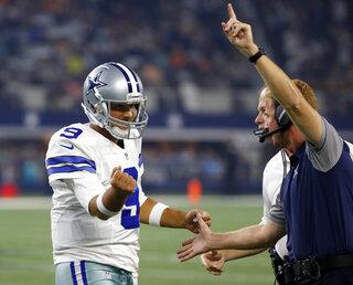 Tony Romo, Jason Garrett