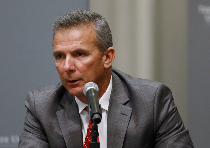 Ohio St's Meyer pushes back on reasons for suspension