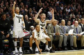 Carsen Edwards, Isaac Haas, Vince Edwards
