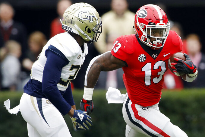 Georgia offense bracing for biggest test from Crimson Tide