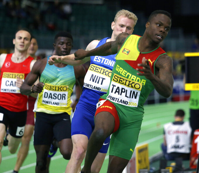 Olympic runner Taplin banned 4 years for evading test