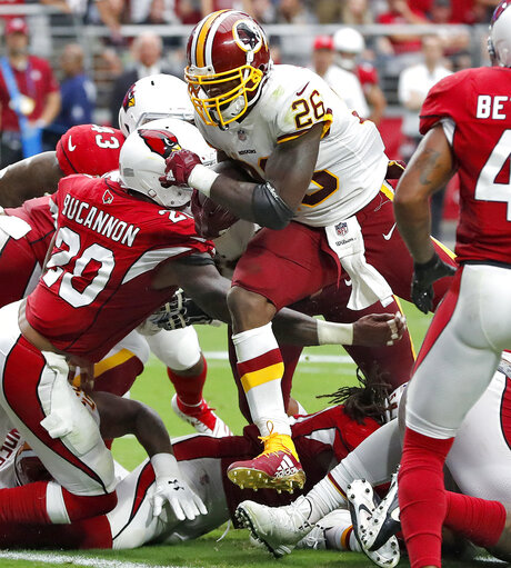 Redskins Cardinals Football