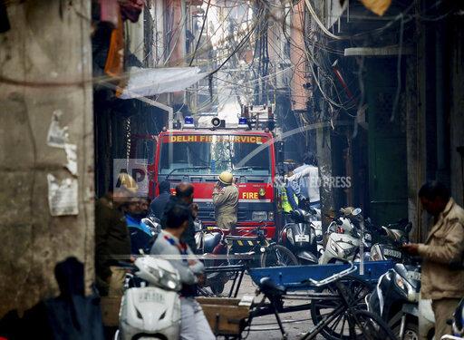 APTOPIX India Fire