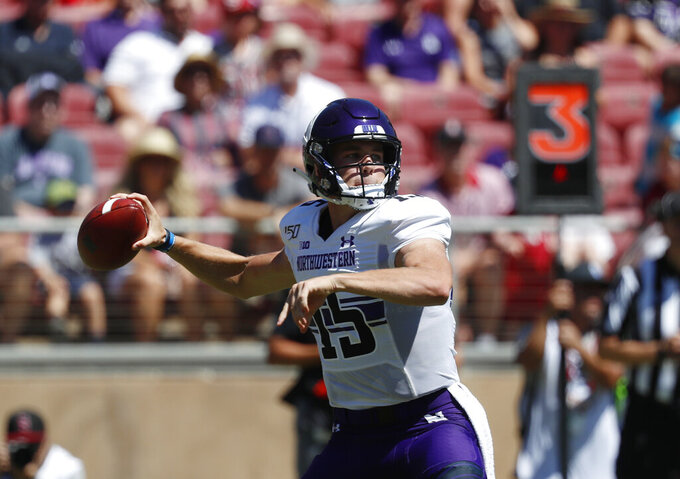 Northwestern's Johnson looks to rebound against UNLV