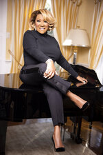 """This December 2020 photo released by Hearst shows a portrait of singer Patti Labelle, taken by Whitney Thomas for  """"Lift Every Voice"""" project. Oprah Winfrey and Hearst Magazines teamed up for interviews that pair young Black journalists with elders that include civil rights activists, celebrities and others who share some lessons learned in life. (Whitney Thomas/Hearst via AP)"""
