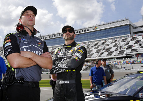 Chad Knaus, Jimmie Johnson