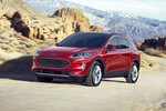 This undated photo provided by Ford shows the 2020 Ford Escape, a redesigned version of Ford's compact SUV. (David Westphal/Ford Motor Co. via AP)