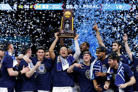 Villanova-National Champs Open Basketball