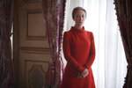 In this image released by Netflix, Erin Doherty portrays Princess Anne in a scene from the third season of