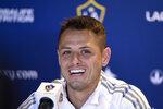 Los Angeles Galaxy's Javier