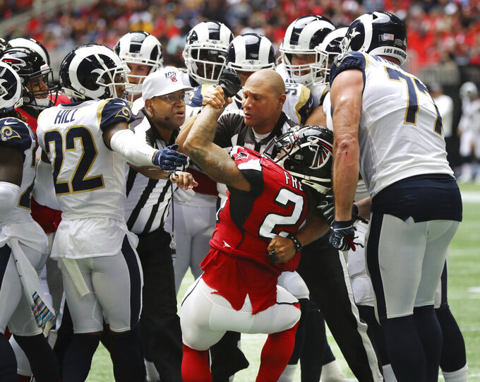 Road warriors: Rams reclaim their game with help from Ramsey
