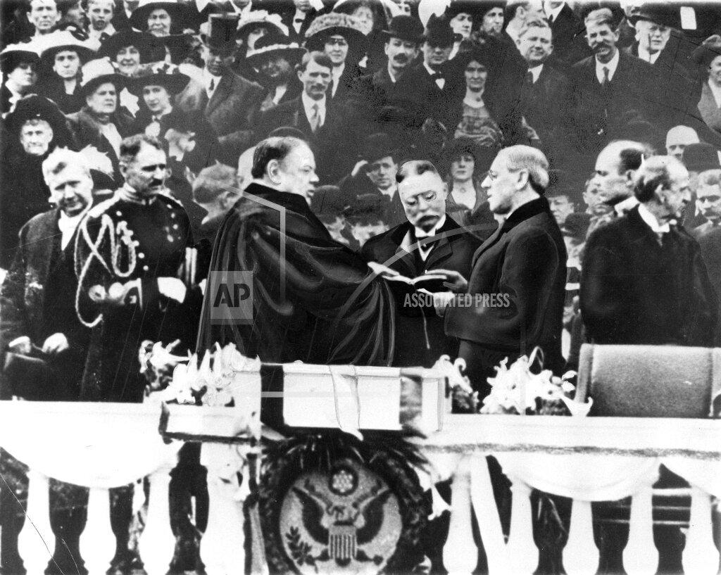 Associated Press Domestic News Dist. of Columbia United States WILSON INAUGURATION 1913
