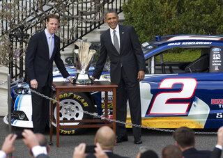 Barack Obama, Brad Keselowski