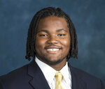 FILE - This 2017 photo provided by University of Michigan Photography shows Rashan Gary. Gary is a possible pick in the 2019 NFL Draft. (Austin Thomason/University of Michigan Photography via AP)