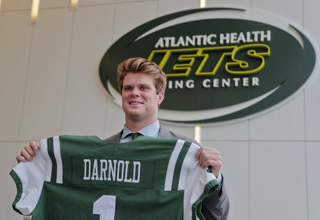 Jets Draft Football