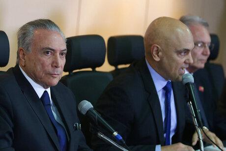 Michel Temer, Alexandre de Moraes
