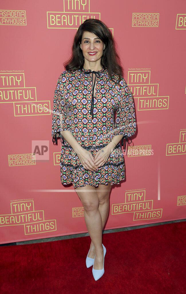 "Opening Night of ""Tiny Beautiful Things"""